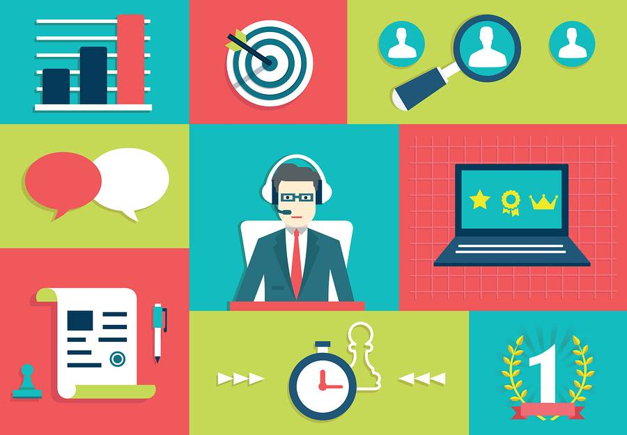 Customer Relationship Management System. Interaction And Gamific